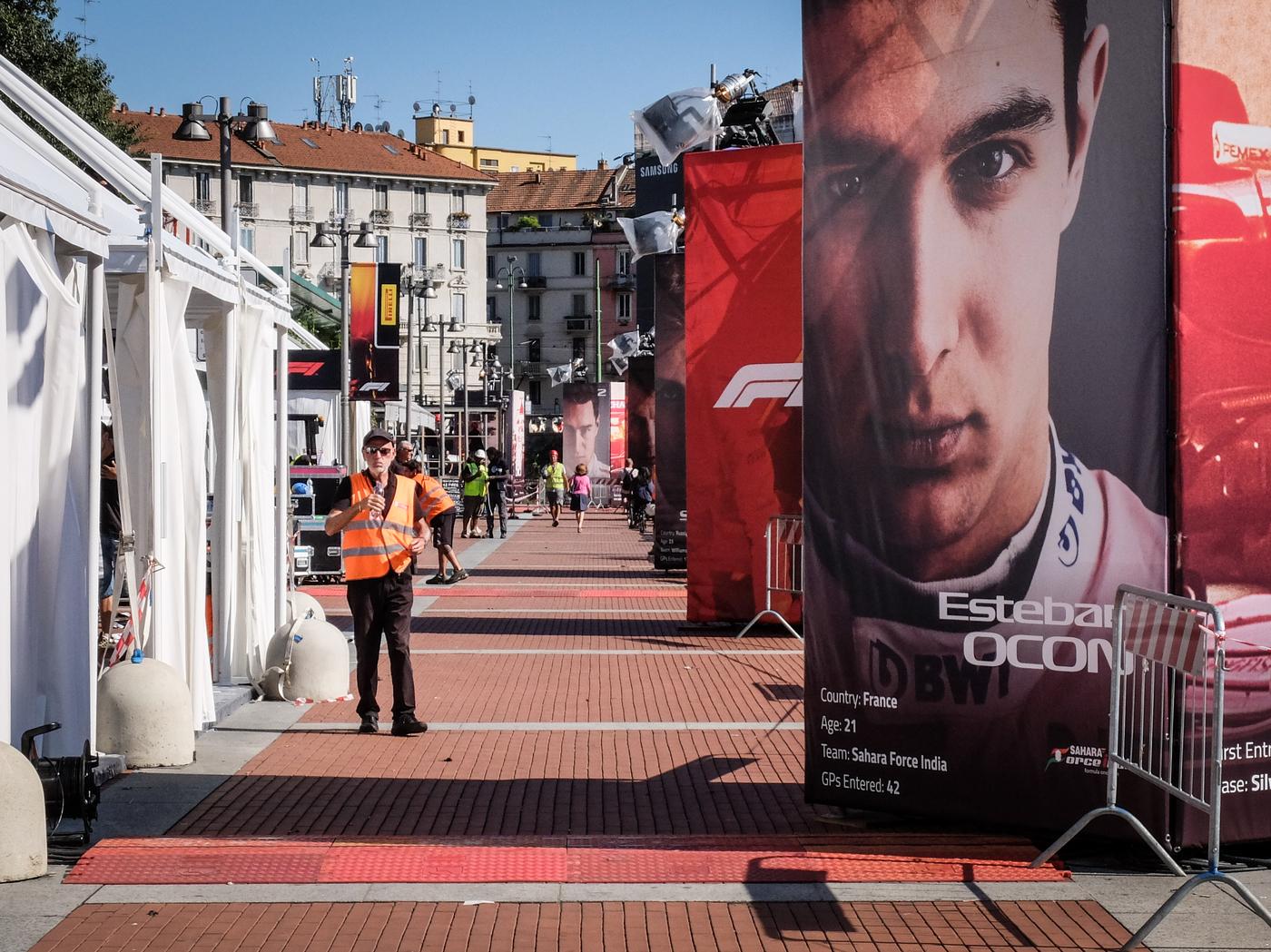 Milano in festa per la Formula Uno