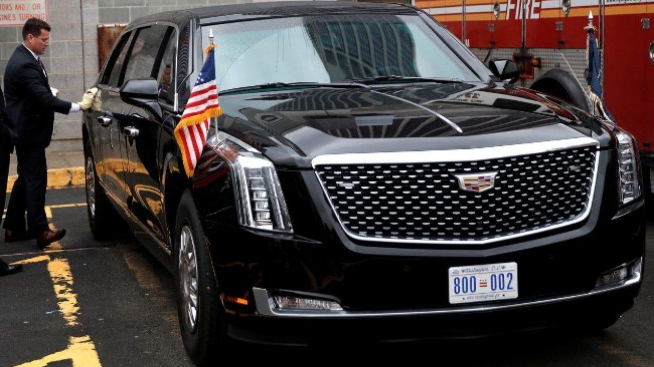 """Prima uscita ufficiale per la Cadillac Presidenziale """"The Beast ..."""