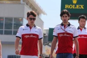 Leclerc e Giovinazzi
