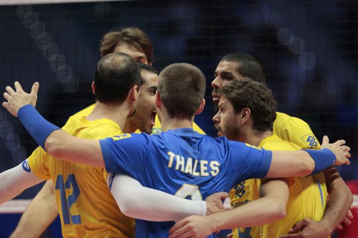 Brasile vs Serbia - FIVB Semifinale campionato mondiale di pallavolo maschile 2018