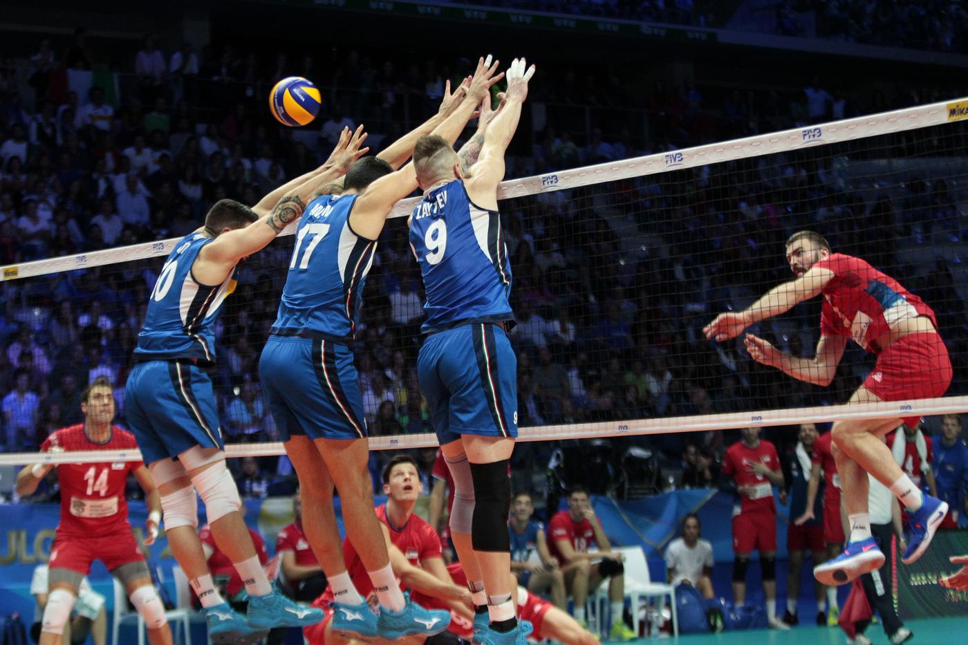 Pallavolo: Mondiali, Italia choc, il riscatto contro la Polonia a 1,35