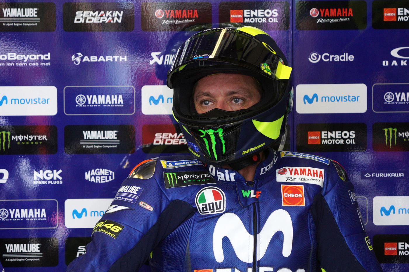 MotoGP, Valentino Rossi cosa succede in Yamaha?