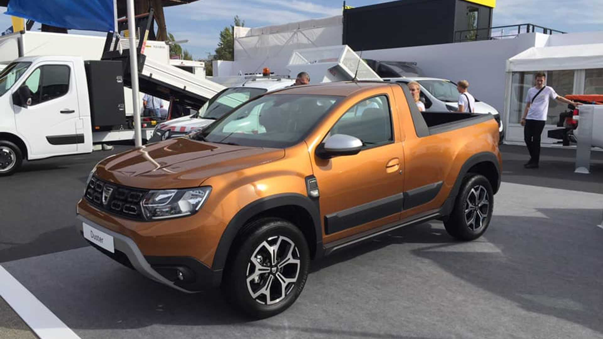 dacia duster l off road low cost si trasforma in pick up foto. Black Bedroom Furniture Sets. Home Design Ideas