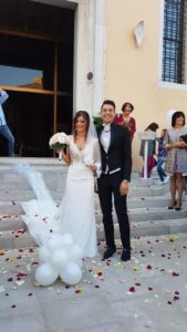 Davide Cimolai in Carlo Pignatelli_Matrimonio con Greta Rover