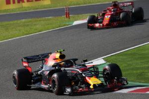 Verstappen e Vettel