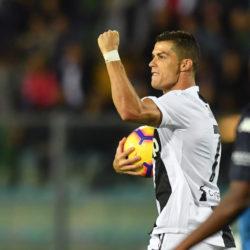 Empoli vs Juventus - Serie A TIM 2018/2019 cristiano ronaldo