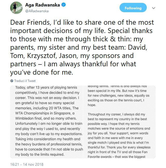 Aga Radwanska
