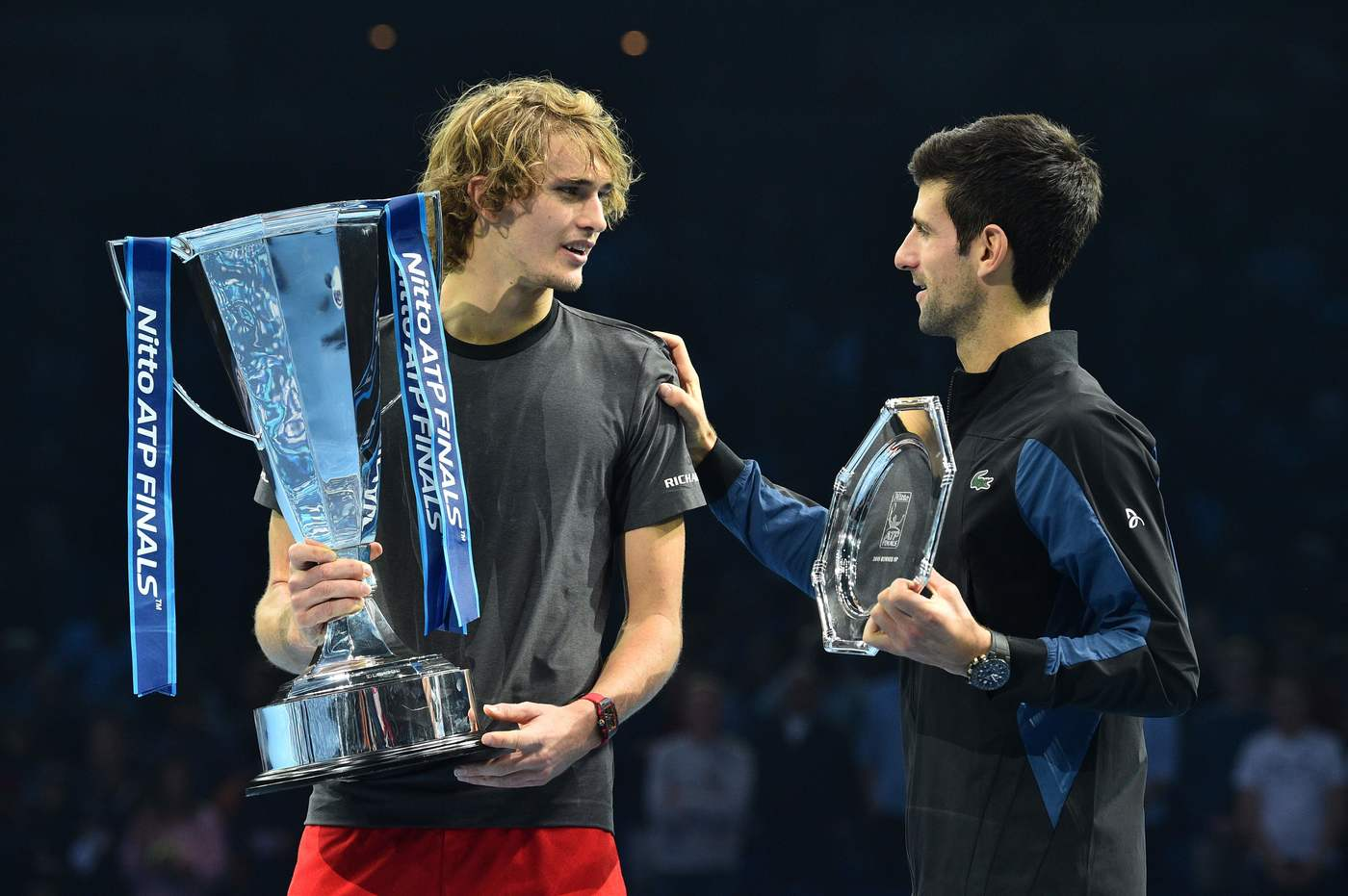 Alexander Zverev vs Novak Djokovic – Tennis finale ATP World Tour Finals