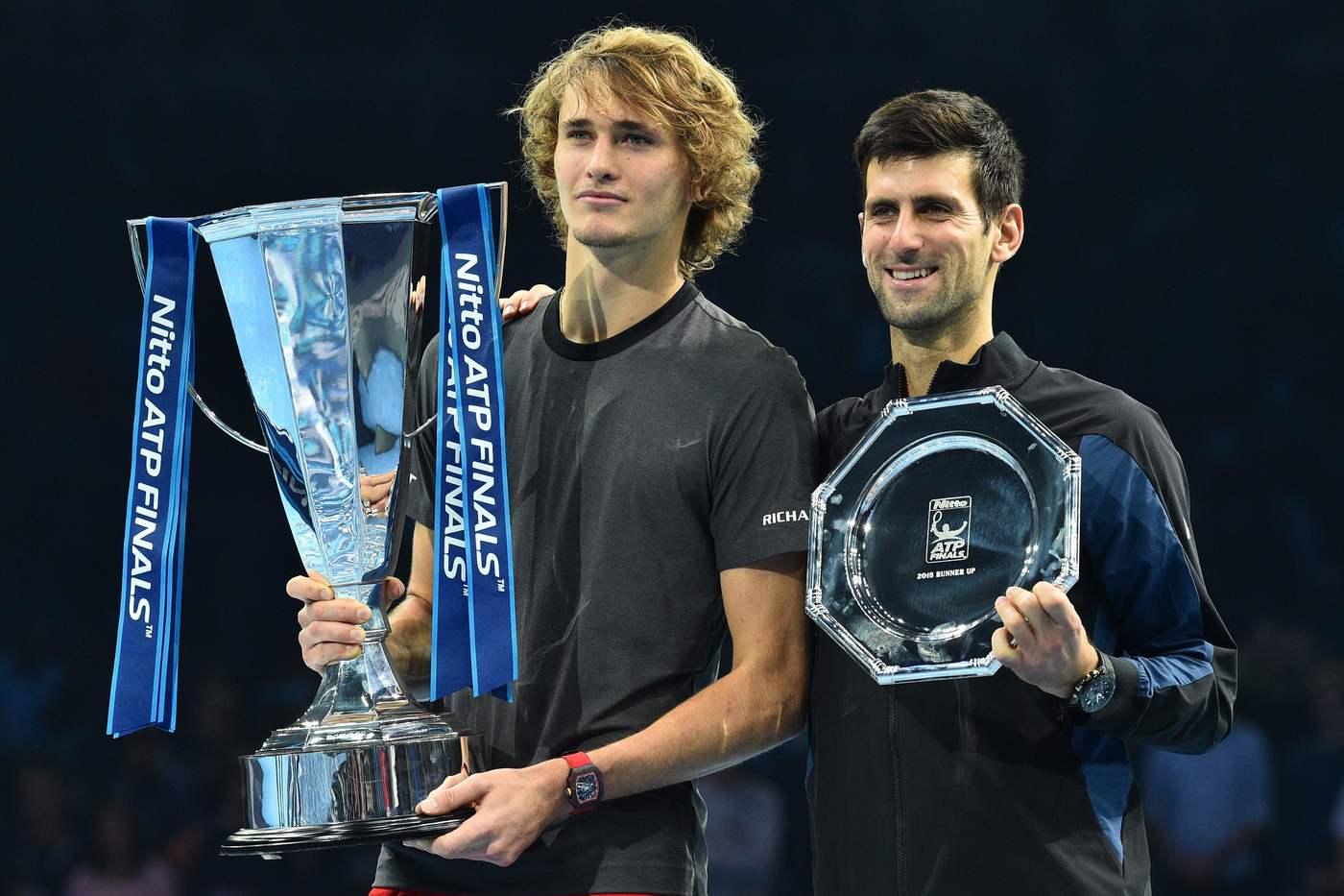Alexander Zverev vs Novak Djokovic – Tennis finale ATP World Tour Finals