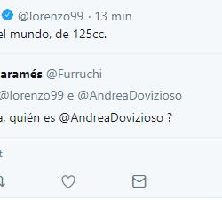 tweet jorge lorenzo dovizioso