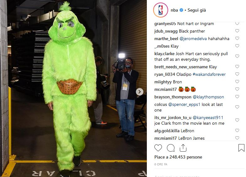 Javale McGee / Grinch