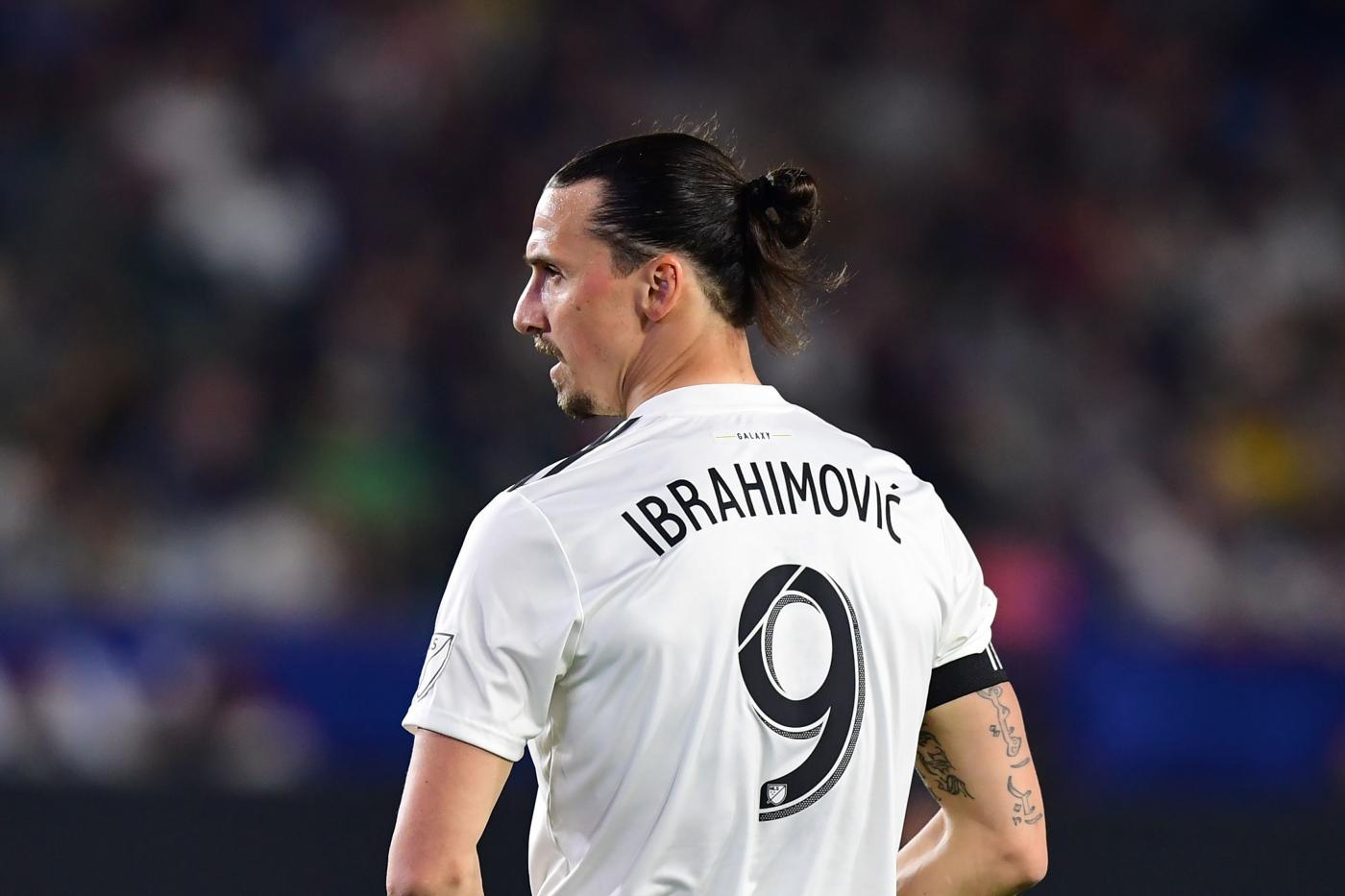 """Ibrahimovic contro gli arbitri americani: """"secondo loro appena tocco ..."""