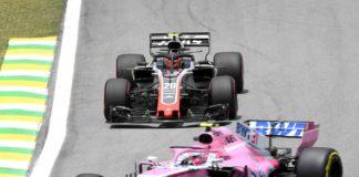 Haas e Force India