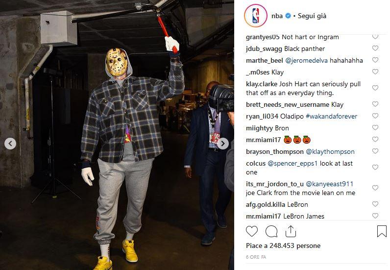 LeBron James / Jason Vorhes venerdì 13