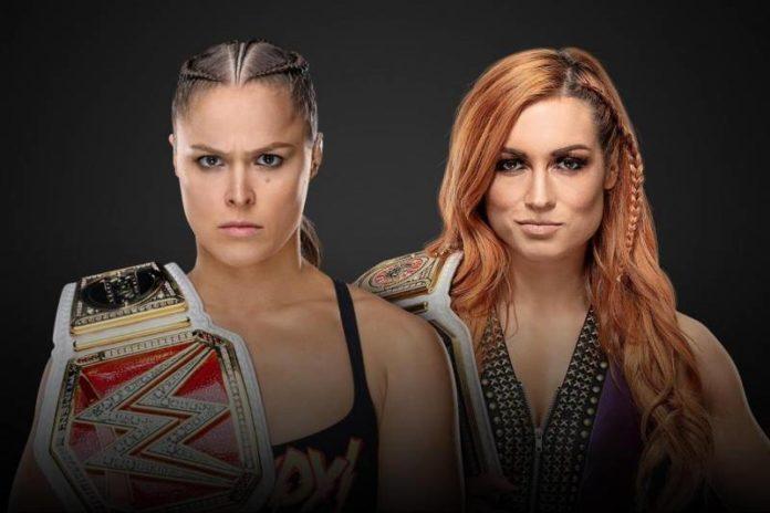 Ronda Rousey vs Becky Lynch WrestleMania35
