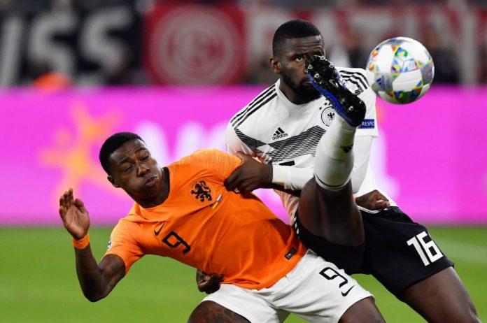 Calcio, Nations League: Germania vs Olanda