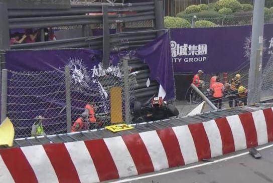 F3: gp Macao, pauroso incidente a tedesca Floersch