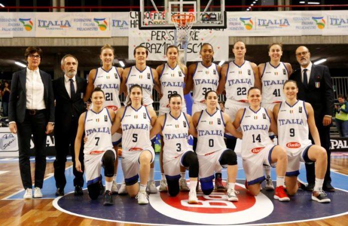 italbasket nazionale femminile pallacanestro