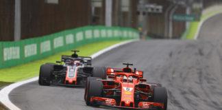 Team Haas e Ferrari