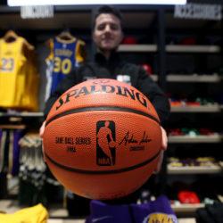 pallone nba basket