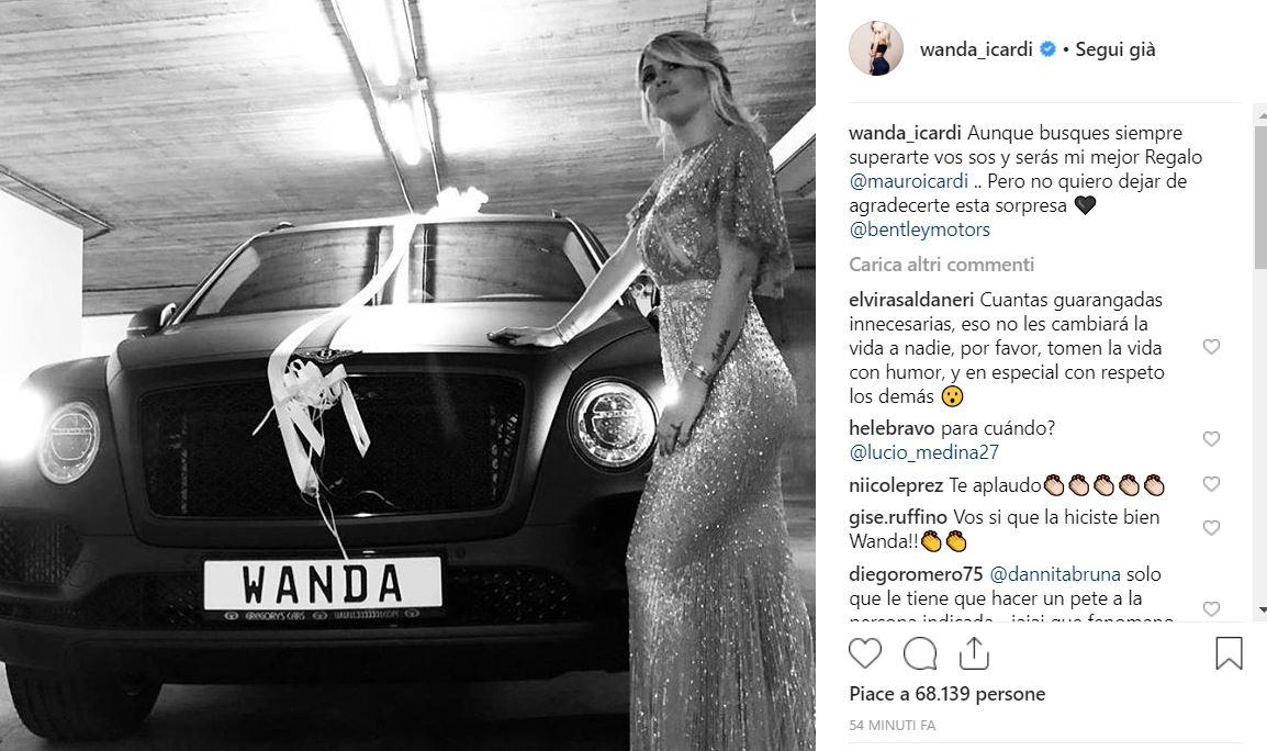 Wanda Nara festeggia compleanno con party folle. VIDEO e FOTO su Instagram