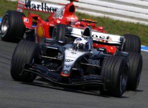 Schumacher e Coulthard