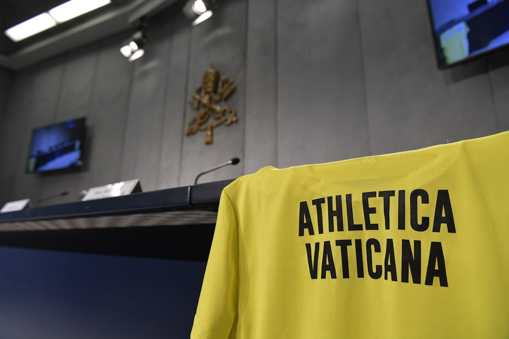 Conferenza stampa Atletica Vaticana