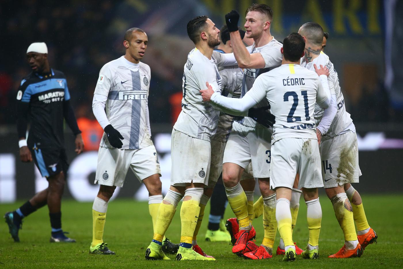 Inter vs Lazio - Coppa Italia - Quarti di finale 2018/2019