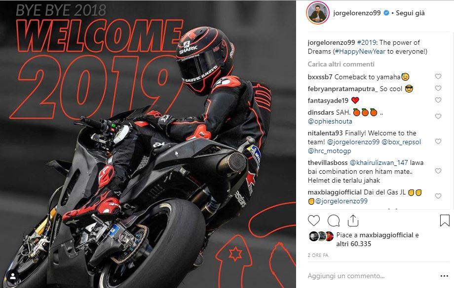 MotoGP, Lorenzo: