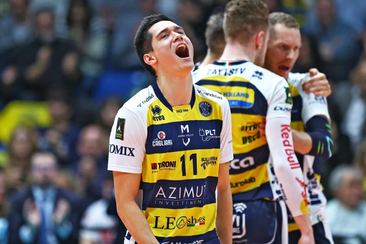 Pallavolo modena batte verona adesso i playoff primo for Casa modena volley