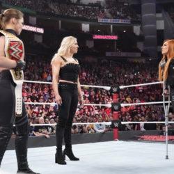 Ronda Rousey Charlotte Flair Becky Lynch