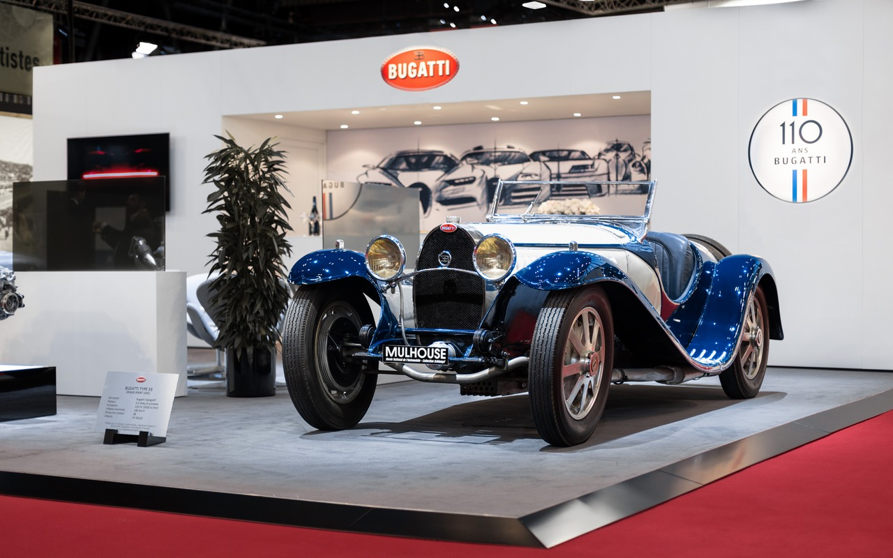 Bugatti 110 Anni Di Storia Celebrati Al Retromobile 2019 Foto