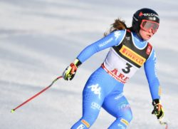 """Mondiali Sci 2019 – Sofia Goggia applaude Lindsey Vonn: """"un'atleta straordinaria, bel podio con la Stuhec"""""""
