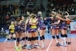 Pallavolo – Serie A1 Femminile |  l'Imoco comincia con una vittoria |  stesa la Saugella