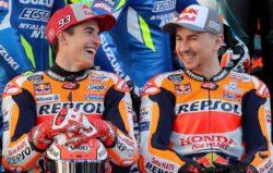MotoGp – Ritiro Jorge Lorenzo, Marquez sponsorizza già il su