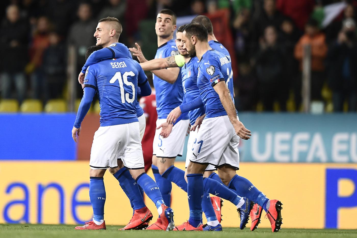 Nazionale, Romagnoli esalta i compagni dopo la vittoria contro il ...
