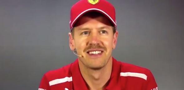 """F1 – Sebastian Vettel non perde il senso dell'umorismo: """"problema ..."""