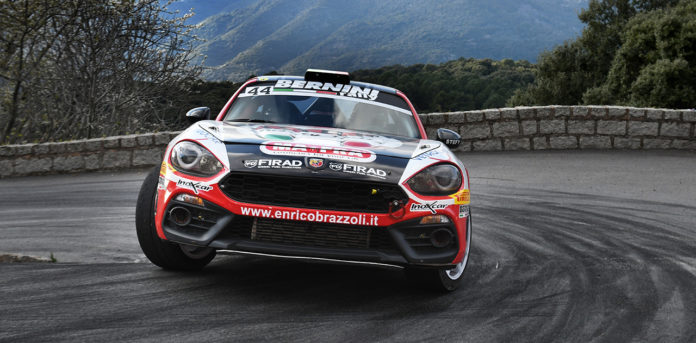 Abarth 124 rallye Brazzoli