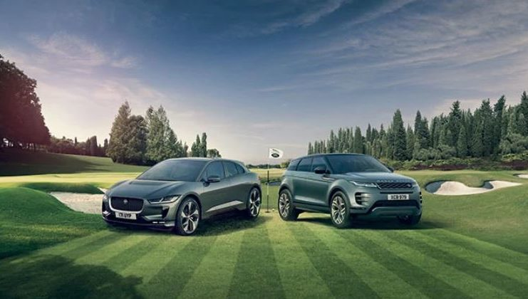 Jaguar land rover golf
