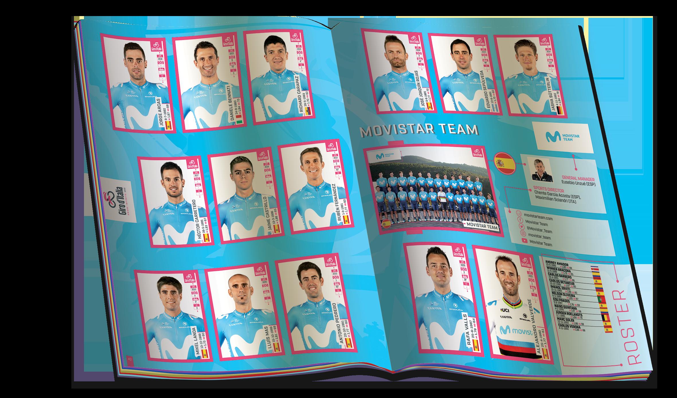 online store d2dab b3298 Giro d'Italia - Da oggi in edicola la nuova collezione di ...