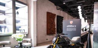 ducati diavel materico Milano design week