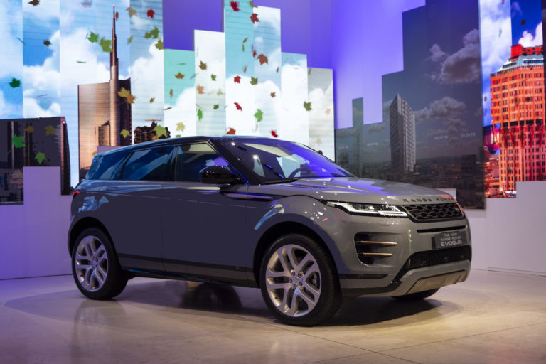 land rover milano design week