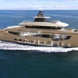 Rossetti Superyachts Supply Vessel 52m