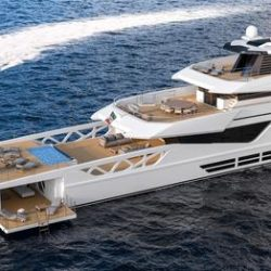 Rossetti Superyachts Supply Vessel 52m