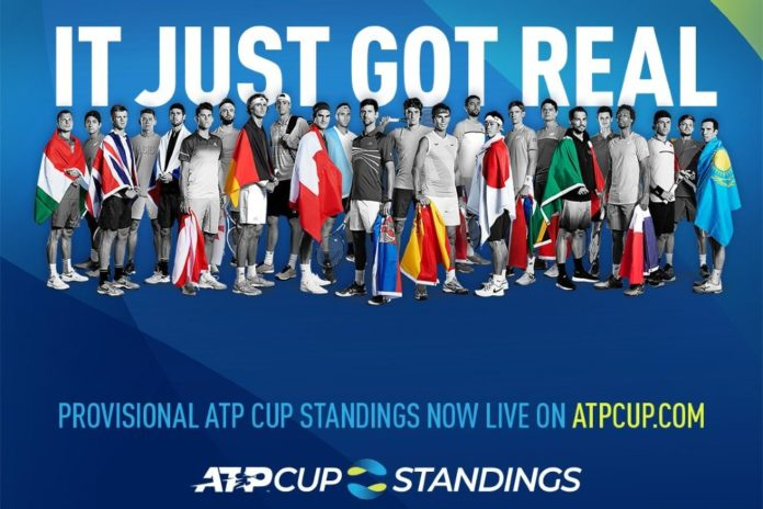 atp cup standing