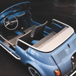 Fiat 500 Jolly spiaggina icon-e garage italia