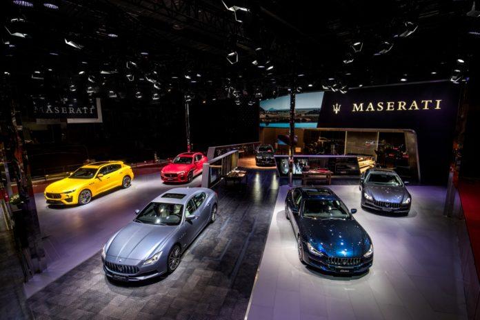Maserati Stand
