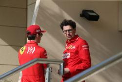 Formula 1 |  Leclerc snobba i complimenti di Binotto via radio |  la reazione del team