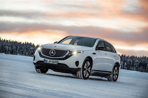 Mercedes EQC: il primo SUV elettrico della casa della Stella