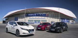 Nissan Electrifies UEFA Champions League